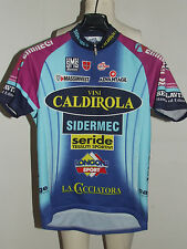 MAGLIA BICI CICLISMO SHIRT MAILLOT CYCLISM TEAM VINI CALDIROLA SANTINI tg. M