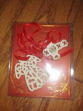 lenox angel and cross ornaments