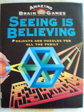 Amazing Brain Games, Seeing is Believing :HC book byPatrick Green