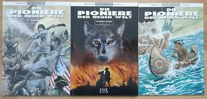 DIE PIONIERE DER NEUEN WELT 1 - 21 (Splitter Kult Finix) Sammlung Serie komplett