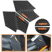 Tank Traction Side Pad Gas Fuel Knee Grip Decals Fit KTM DUKE 125 200 390