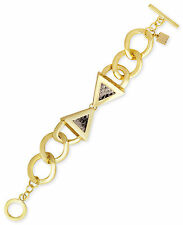 ROMAN LUXE x Karla Deras 14k Gold-Plated Python Bow Chain Toggle Bracelet  $75