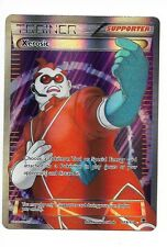 1 Carte Pokemon Xerosic -Xantin  Full art  (119/119) ultra rare neuve anglaise