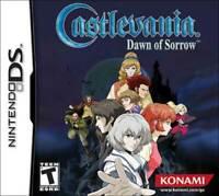 Castlevania: Dawn Of Sorrow - Nintendo DS Game