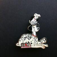 101 Dalmatians - Family - Pongo and Puppies - Slider Disney Pin 48613