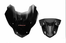 HONDA CB500F FIT FRONT SHIELD BLACK WINDSCREEN ABS AIR ROCK