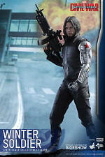 Hot Toys Captain America Civil War Winter Soldier 1/6 Scale Sideshow USA Seller