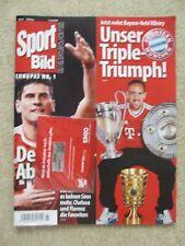 Sport Bild Bayern München Unser Triple-Triumph