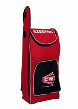 Ezee Pak Cricket Bag - Sports Backpack Duffel Black Red Heavy Synthetic Large Fs