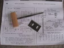 Luthier Violin Tool  Peg Reamer  repair + Blade + Plan