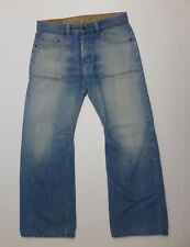 Sicko 19 Mens 35X31 Eur 44 Mex 34 Light Blue Button Fly Jeans Good Condition