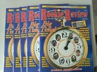 (5) 2003 Rookie Review Magazine w/ Lebron James and Dwyane Wade rookies! SCARCE