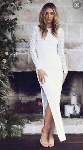 Grace Loves Lace Kikki 2.0 Wedding Dress Gown - Size M / 10