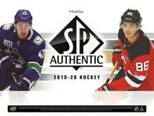 2019-20 Upper Deck SP Authentic Team Set YOU PICK