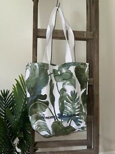 Tommy Bahama Tropical Canvas Tote Beach Gym Shopping Bag