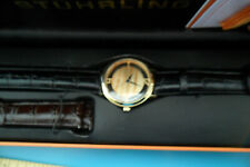 Men's Sturhling Watch -NIB unregistered!  with black and brown leather bands