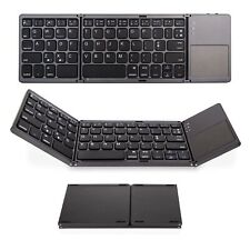 Saco Folding Bluetooth Keyboard Rechargeable Portable Wireless