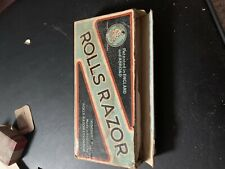ROLLS RAZOR + STROP DRESSING - VINTAGE AND COLLECTABLE