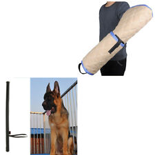 Dog Bite Tugs Protection Arm Sleeve with Dog Training Whip