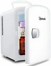 AstroAi Mini Fridge 4 Liter/6 Can Ac/Dc Portable Thermoelectric Cooler