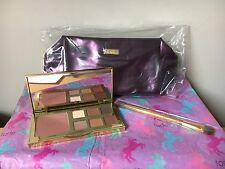 BRAND NEW TARTE UNTAMED EYE & CHEEK PALETTE , MAKE UP BAG & DOUBLE BRUSH UNBOXED