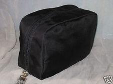 NEW BOBBI BROWN BLACK NYLON MAKE UP BAG, NO BOX