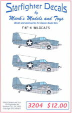 Starfighter Decals 1/32 GRUMMAN F4F-4 WILDCAT Fighter