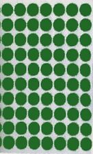 "1/2"" Green Trophy Protective Felt Dot Pads 1,000 pc lot"