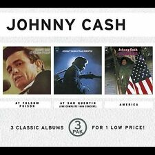 At Folsom Prison/At San Quentin/America, Johnny Cash, Good Box set, Live