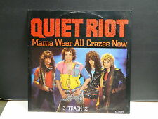 "MAXI 12"" QUIET RIOT Mama weer all crazee now TA 4572"