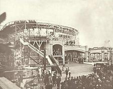 "LONG BEACH PIKE Rollercoaster JACK RABBIT RACER Photo Print 859 11"" x 14"""