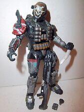 Halo Reach Series 1 **EMILE** 100% Complete w/ Shotgun, Shells, Grenade, Knife!!
