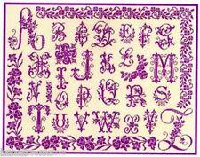 GRILLE POINT de CROIX - Abécédaire Aux Lettres Anciennes - réf 1018