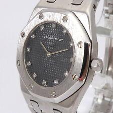 Audemars Piguet Royal Oak Unisex Uhr Diamanten (0,12 Ct) 750er/18 Karat Gold
