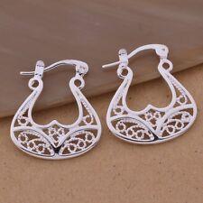 925 plata hermosa Creta nuestro diosa Toro Cuernos Pendientes Día De San Valentín