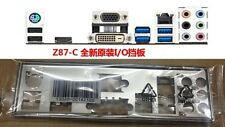original ASUS I/O IO SHIELD BLENDE BRACKET Z87-C  motherboard #G504 XH