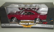 1/18th 1968 Plymouth Hemi Road Runner Burgundy