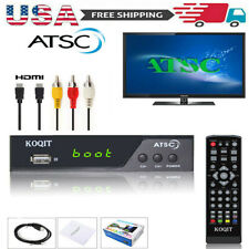 1080P Hdmi Atsc Digital Converter Box Analog Clear Cable Tv Receiver Tuner Hdtv