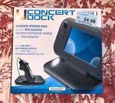 DreamGear - Wii U GamePad Concert Dock Charging Speaker Used Once