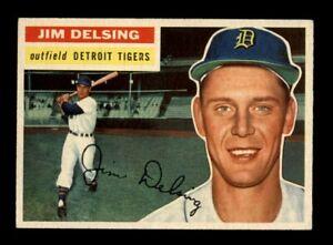 1956 Topps Baseball #338 Jim Delsing (Tigers) EXMT