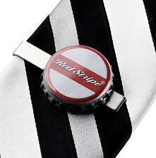 Red Stripe (R) Tie Clip