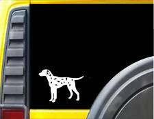 Dalmatian Dog Decal 6 inch Sticker *J648* fire station mascot