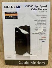 NISP NETGEAR Cable Modem CM500 (CM500-1AZNAS) to 680 Mbps Xfinity Spectrum Cox