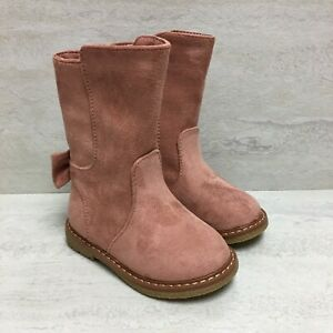 Cat & Jack Toddler Girls' Hermione Fashion Boots, Pink, US Size 5, New with Box