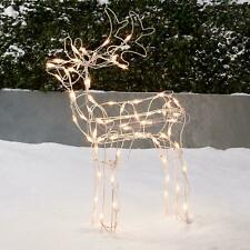 Holiday Time Light-Up Buck Outdoor Christmas Décor 30 in