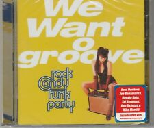 We Want Groove by Rock Candy Funk Party Cd+Dvd Joe Bonamassa New and Sealed