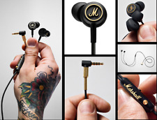 NEW Marshall Mode EQ Earphones In-Ear Earbuds Microphone Remote Stereo bass
