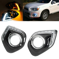 LED DRL For Mitsubishi ASX Outlander Sport 2013 2014 2015 Daytime Running Light