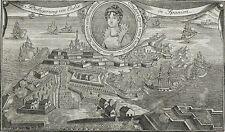 SPANIEN - CADIZ - Belagerung von Cadix - J.G. Wenzel - Kupferstich 1810