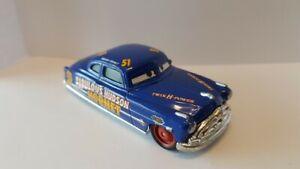 voiture CARS disney pixar Cars 3 Doc Fabulous Hudson Diecast 1:55  9 cm MATTEL